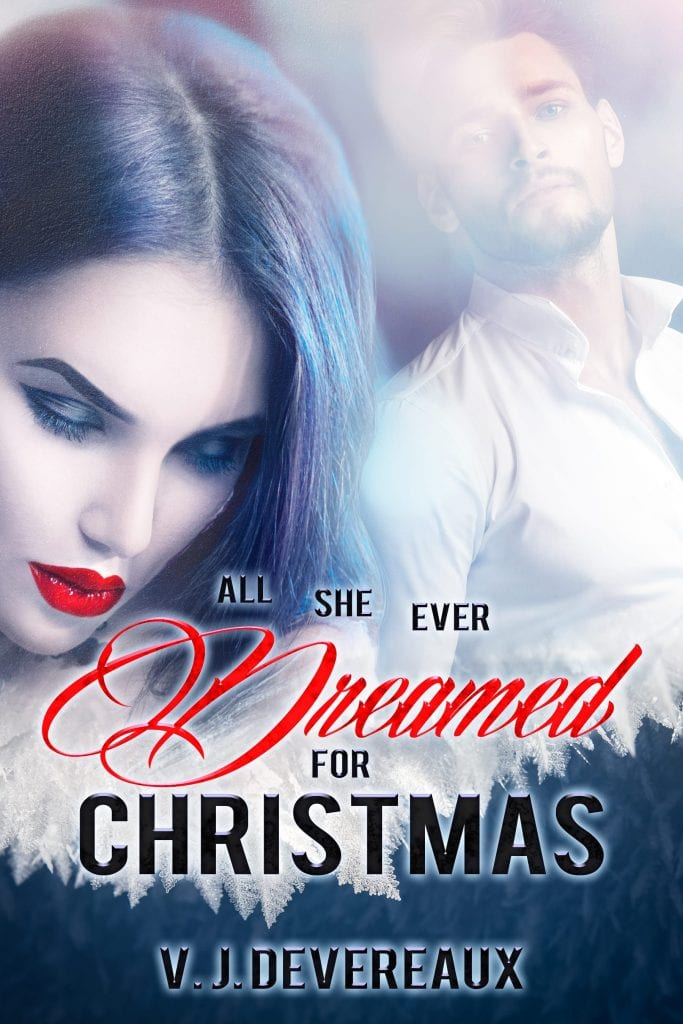 Book Cover: All she ever dreamed for Christmas