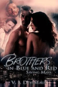 Book Cover: Brothers in Blue and Red: Saving Maya
